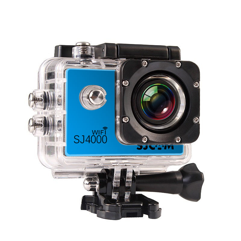 SJCAM SJ4000 Wi-Fi Waterproof Action Camera HD 1080P 12MP - Larger 2.0 Inch Screen - Silver | Monthly Madness