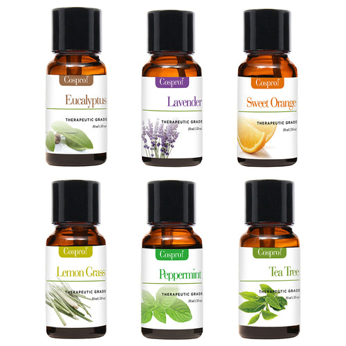 Cosprof Aromatherapy Essential Oils - Set of 6