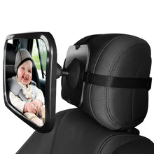 Load image into Gallery viewer, Adjustable Wide Angle Baby Rearview Car Mirror | Monthly Madness
