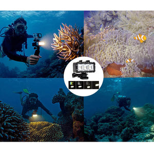 CRX Underwater Light Diving for GoPro Action Cameras - Black | Monthly Madness