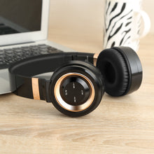 Load image into Gallery viewer, Sound Intone P6 Stereo Foldable Bluetooth Headphones with Microphone - Gold | Monthly Madness