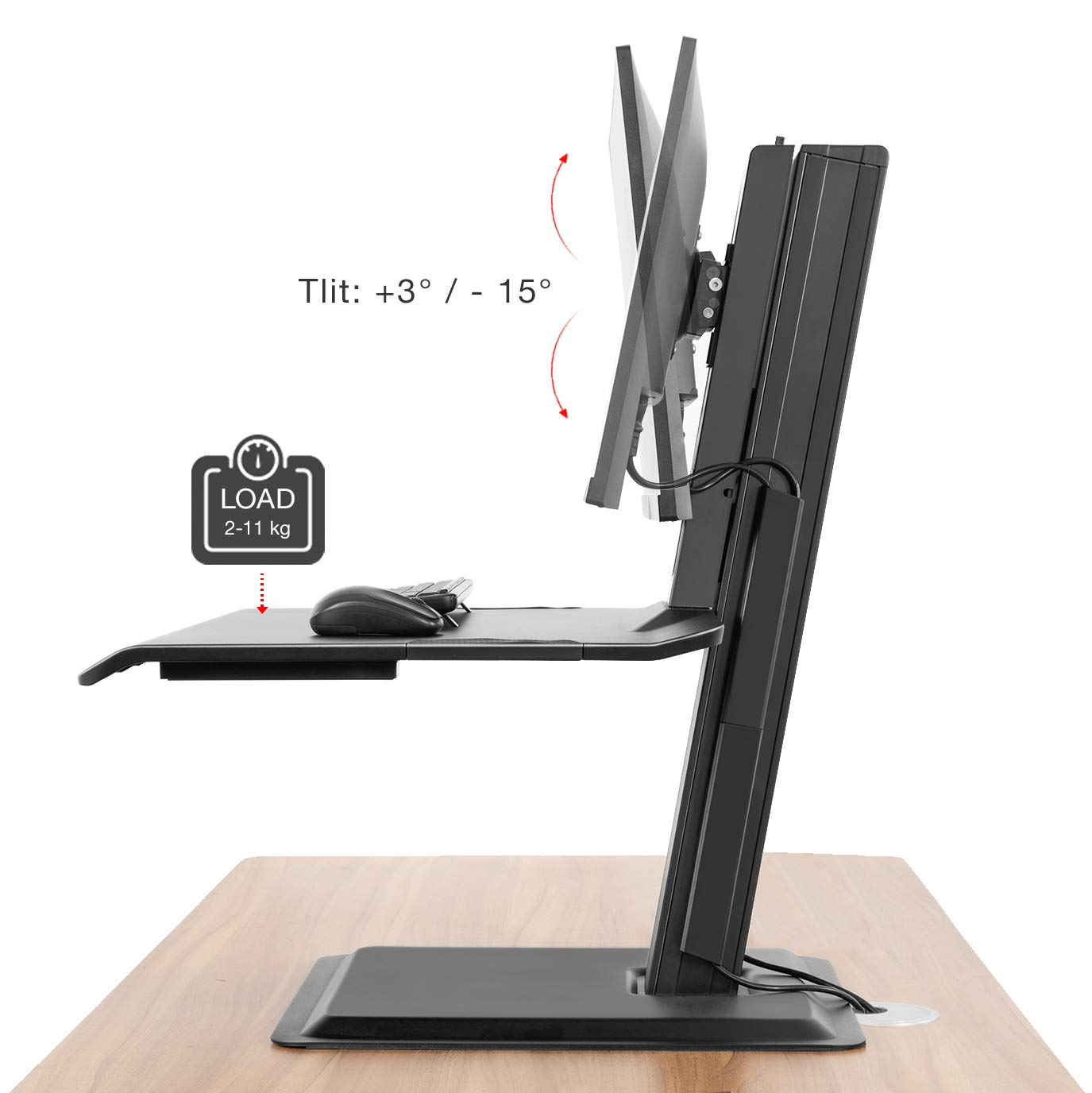 NB North Bayou ST15 Standing Desk Mount | Monthly Madness
