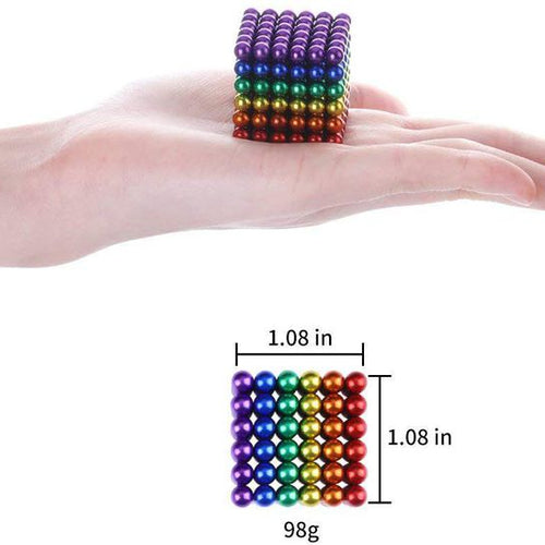 JuniorFX 5mm Magnetic Balls (216 Pieces)