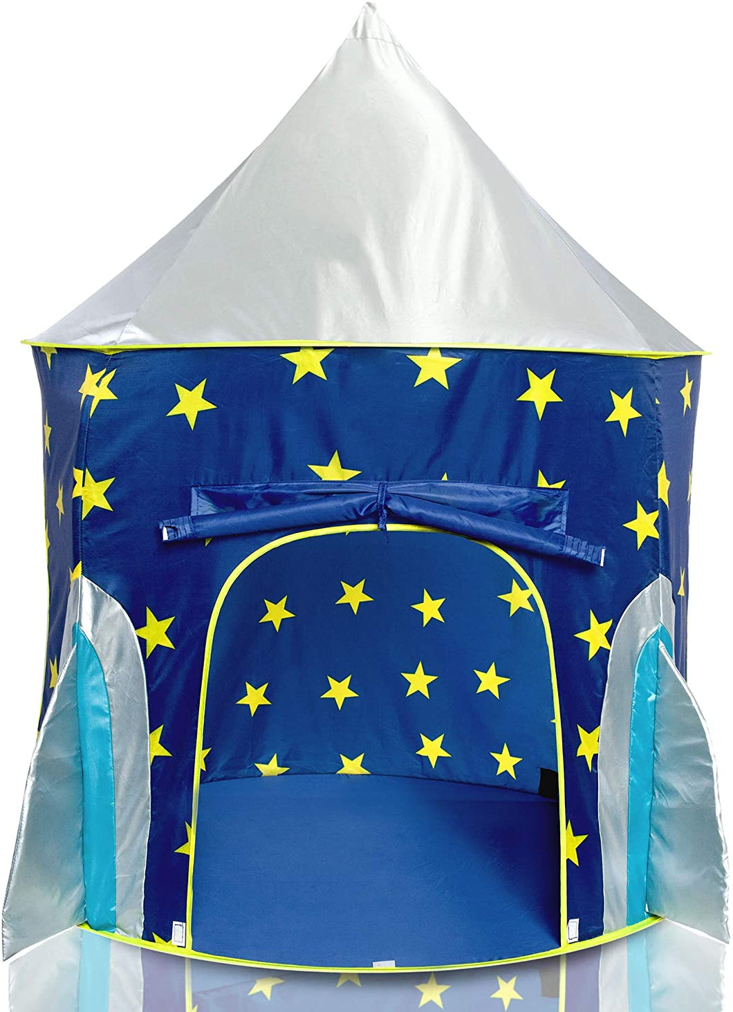 JuniorFX Rocket Pop Up Play Tent With Carry Bag