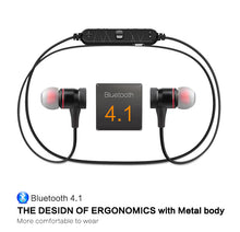 Load image into Gallery viewer, Awei A920 BL Magnetic Wireless Bluetooth Earphones - Black | Monthly Madness