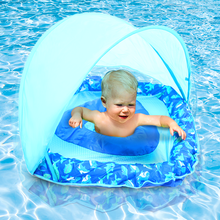 Load image into Gallery viewer, Piggy & Bear Inflatable Sunshade Baby Pool Float | Monthly Madness