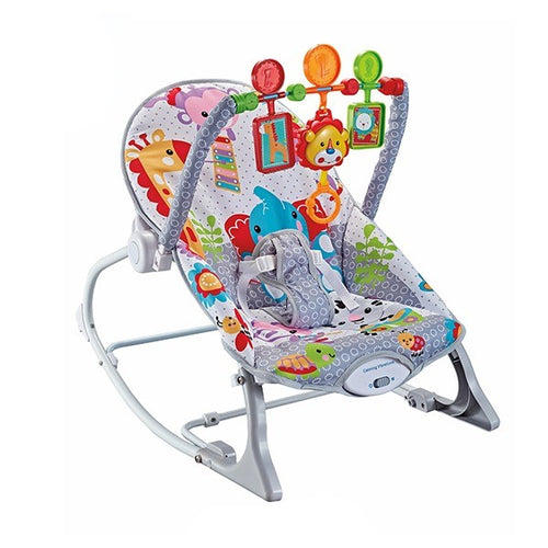 Playful Panda Bouncing Rocker Chair