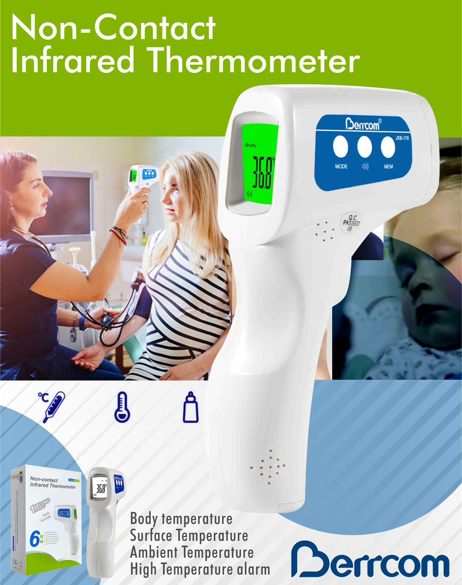 Berrcom Infrared Non-Contact Thermometer | Monthly Madness