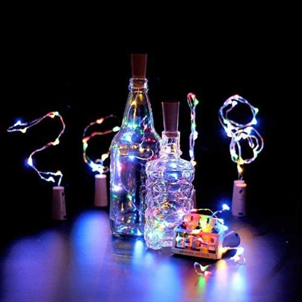 Lumina Bottle Fairy Lights with Cork 6 Set | Monthly Madness