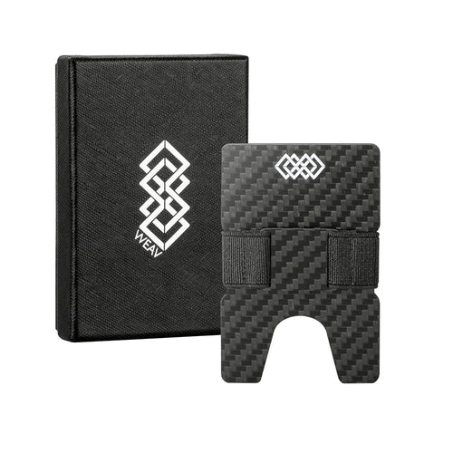 WEAV Slim Carbon Fibre RFID Blocking Stretch Wallet