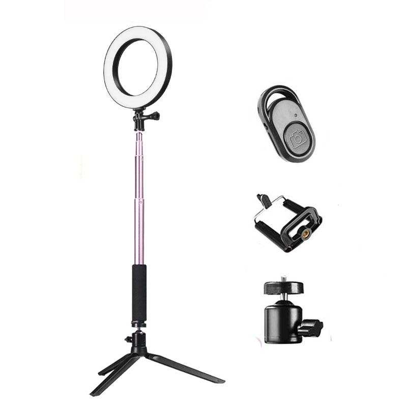 20cm LED Selfie Ring Light with Adjustable Brightness and Remote Control | Monthly Madness