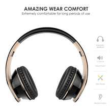 Load image into Gallery viewer, Sound Intone I65 Foldable Headphone with Mic & Volume Control - Black | Monthly Madness