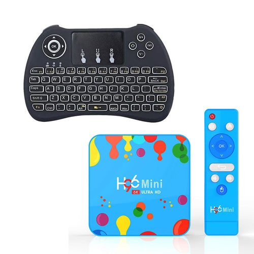 Ntech H96 Mini 6K HD Android 9 Smart TV Box With H9 Mini Keyboard