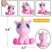 Load image into Gallery viewer, Gigglebread Jumbo Squishy - Pink Unicorn | Monthly Madness