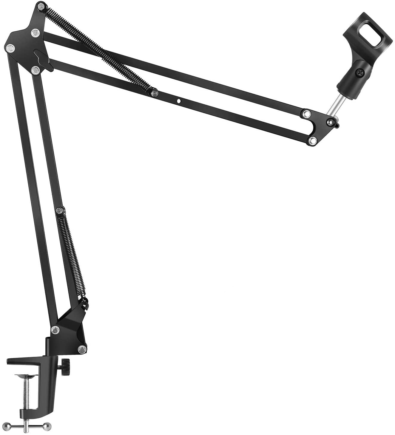 Ntech C-Clamp Adjustable Desk Microphone Stand