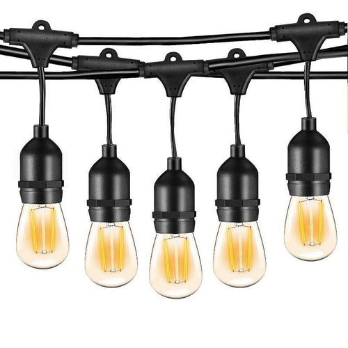 Lumina Solar Festoon String Outdoor Globe Lights