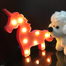 Load image into Gallery viewer, Unicorn Head Marquee LED Light | Monthly Madness