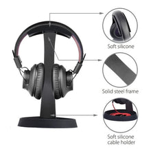 Load image into Gallery viewer, Avantree Aluminum Metal Headphone Stand Hanger with Cable Holder | Monthly Madness