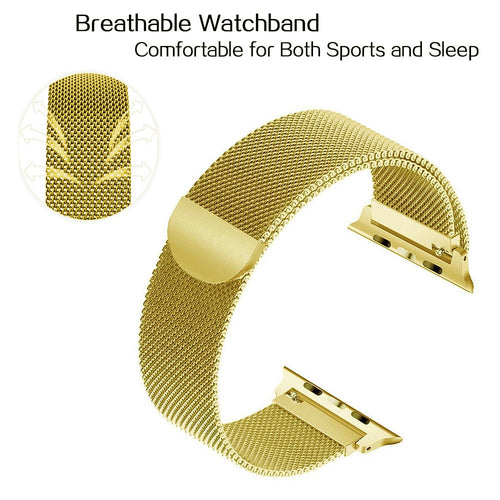 Linxure 38mm Milanese Apple Watch Replacement Strap