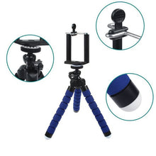 Load image into Gallery viewer, CRX Universal Octopus Sponge Mini Tripod - Red | Monthly Madness