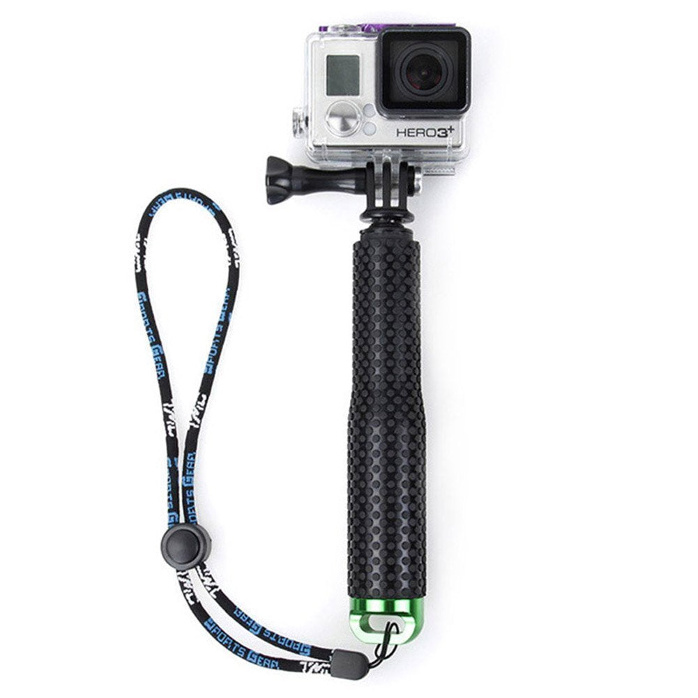 CRX Adjustable Extension Selfie Stick Handheld Monopod for GoPro - Green | Monthly Madness