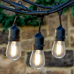 Lumina Solar Festoon String Outdoor Globe Lights | Monthly Madness