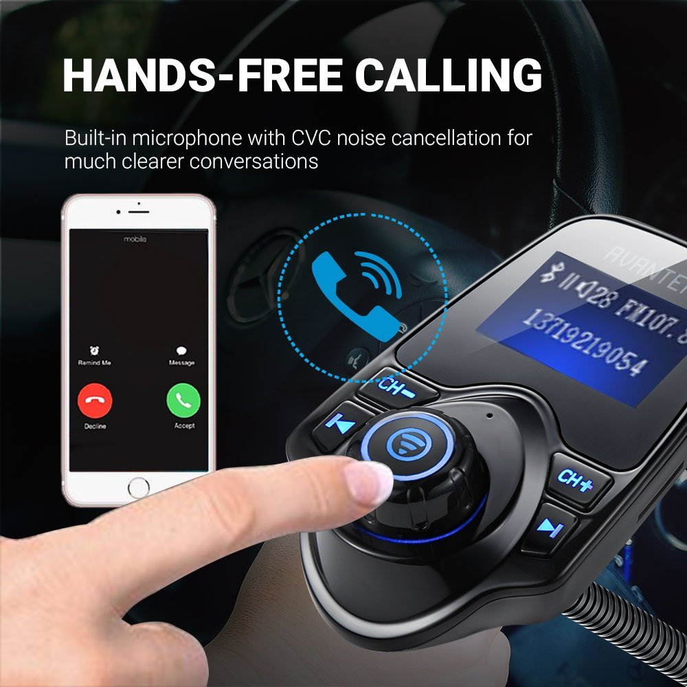 Avantek T10 Bluetooth FM Transmitter Car Kit | Monthly Madness