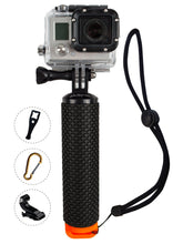 Load image into Gallery viewer, CRX Floating Handle Bobber Pole for Gopro Action Camera - Orange | Monthly Madness