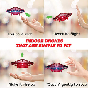 Ntech Mini Hover Motion Sensor Handsfree UFO Toy Drone | Monthly Madness