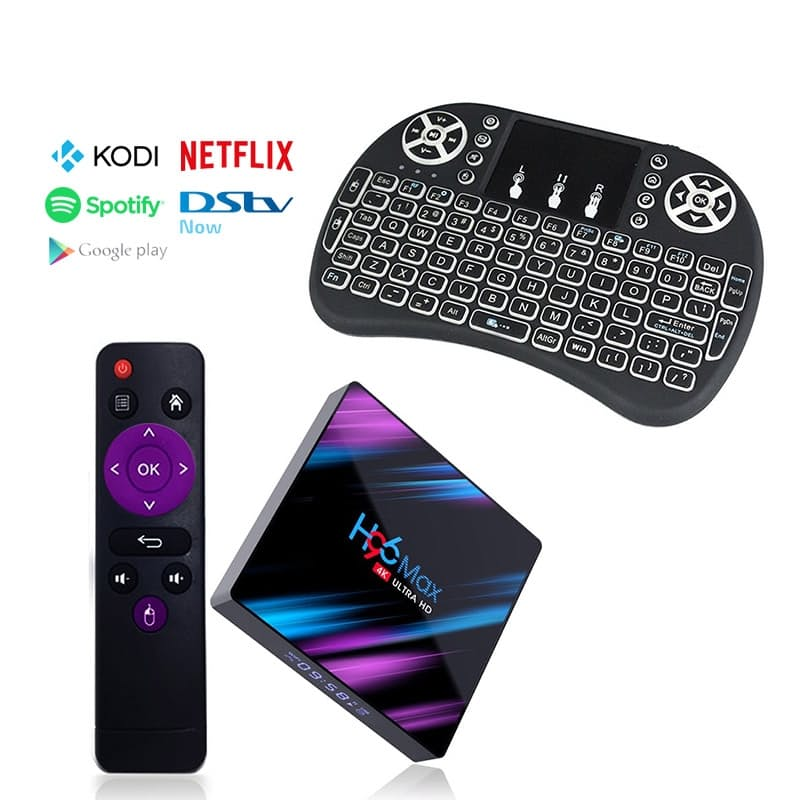 Ntech H96 Max 4K HD Android 9 TV Box with i8 Mini Keyboard | Monthly Madness