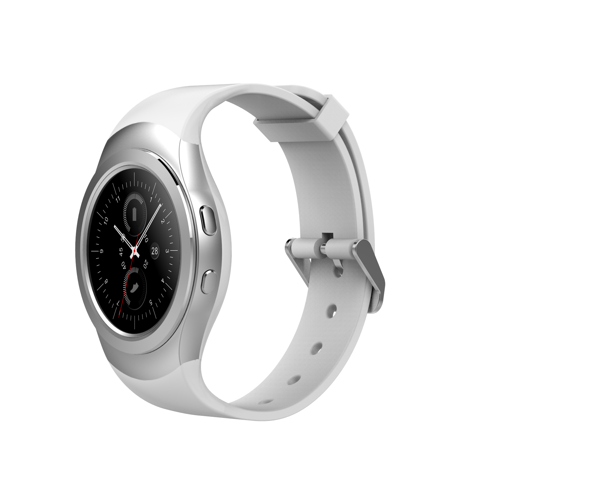 NO.1 G3+ Bluetooth Smart Watch -Silver Smartwatch | Monthly Madness