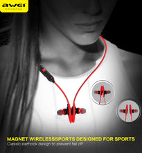 Load image into Gallery viewer, Awei A620BL Magnetic Wireless Bluetooth Sports Earphones | Monthly Madness