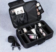 Load image into Gallery viewer, BeautyFX Makeup Cosmetics Organiser Travel Bag | Monthly Madness