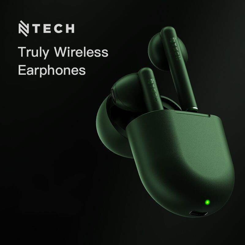 Ntech B7 True Wireless Bluetooth Earpods with Charging Case | Monthly Madness