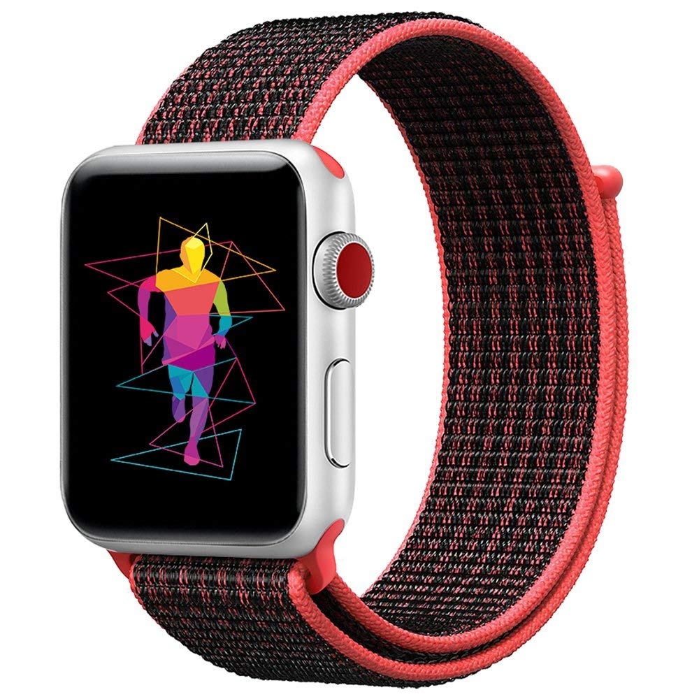 Linxure Nylon Woven Sports Strap for Apple Watch | Monthly Madness