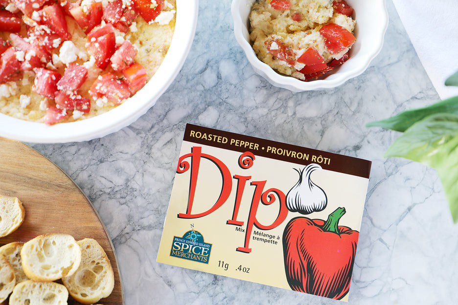 Preserve Company Roasted Pepper and Feta Dip