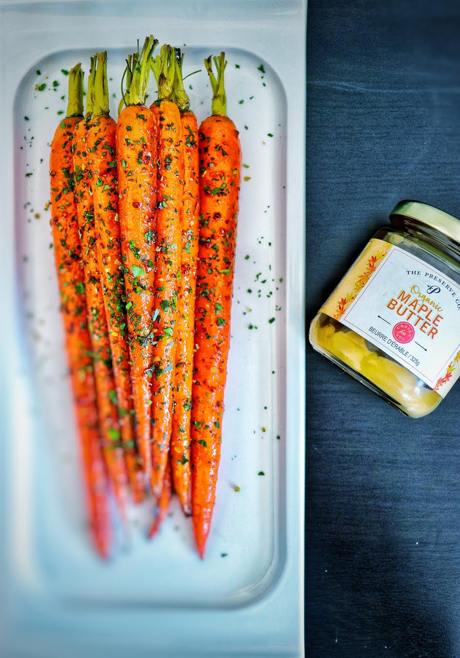 Preserve Company Maple Butter Roasted Carrots