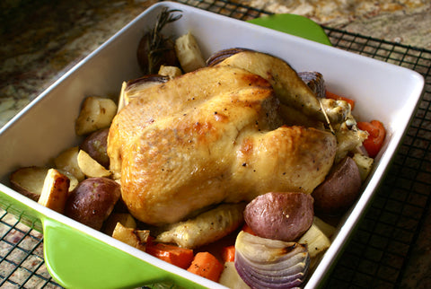 Lemon Curd Roasted Chicken