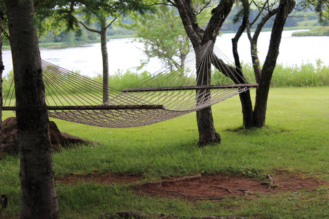 Gardens of Hope Prince Edward Island Summer hammock
