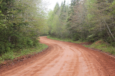 Prince Edward Island Summer red dirt road