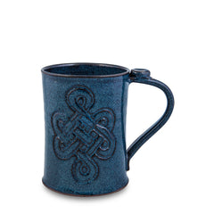 Beer Stein, Celtic Blue