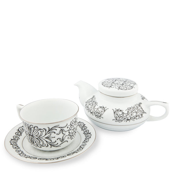 Teapot, Executive Tea Set Black