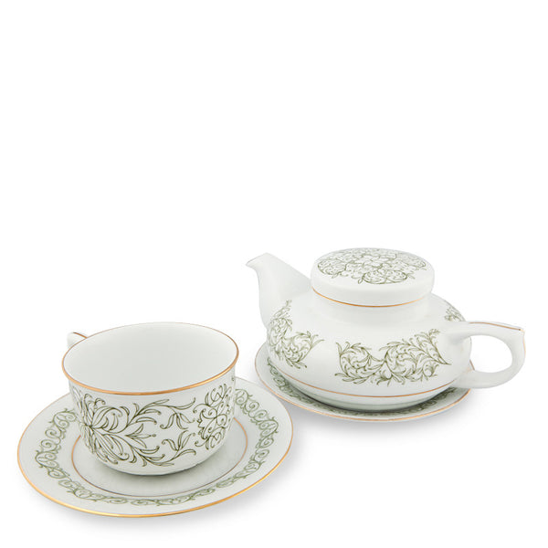Teapot, Executive Tea Set Green