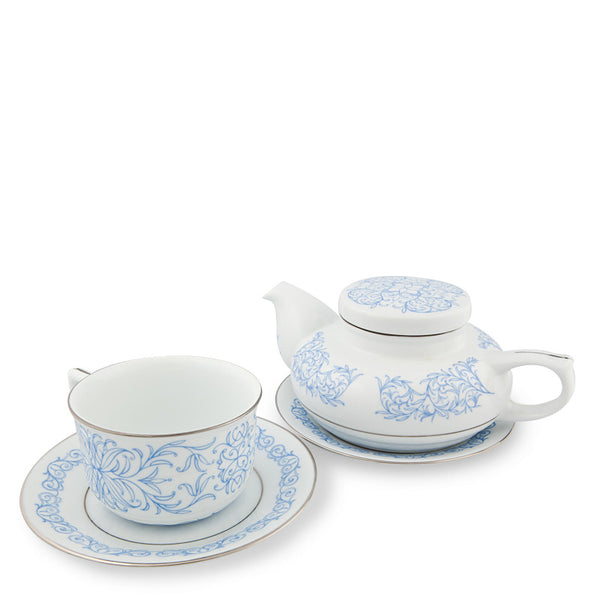 Teapot, Executive Tea Set Blue