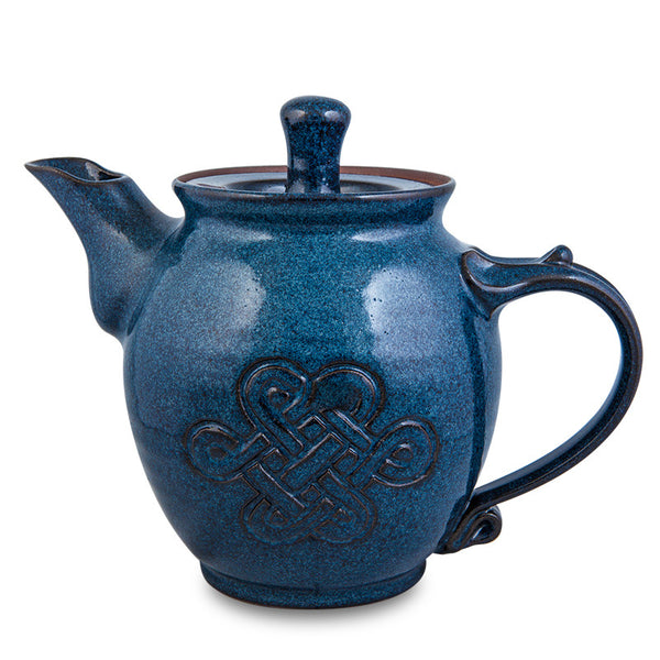 Teapot, Celtic Blue