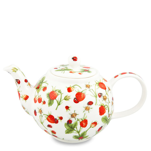 Large Dunoon Teapot, Dovedale Strawberry