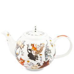 Small Teapot, Cats Galore by Dunoon