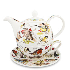T4One Teapot, Birdlife by Dunoon