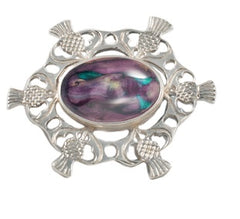 Heather Gems, HB70, Thistle Brooch