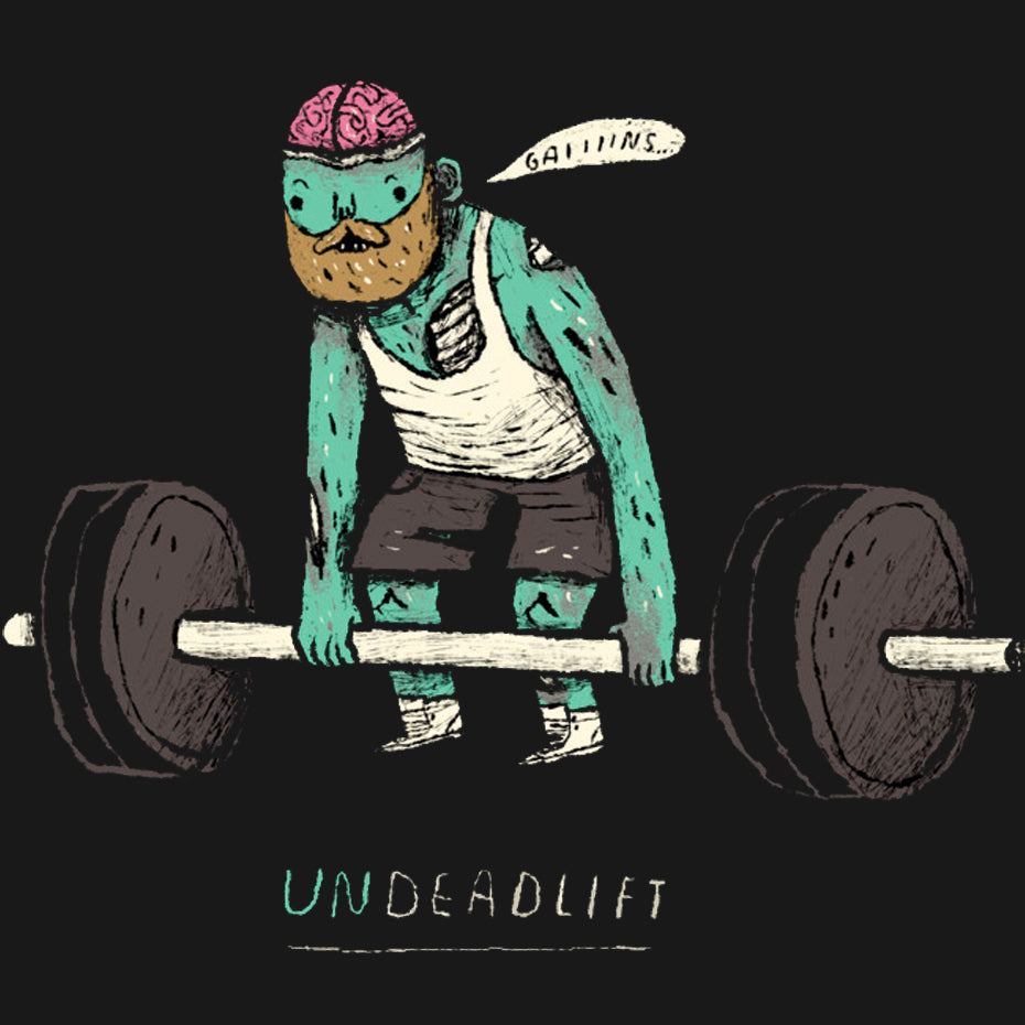 Undeadlift Black T-Shirt